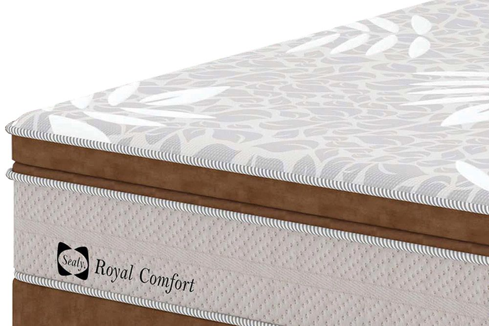Colchão Sealy/ de Molas Posturepedic Royal Comfort Plus